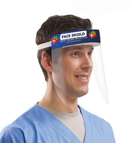 Face Shield Mask For Face Protection Ace Shield With Adjustable Elastic Ful