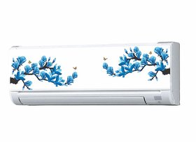 Asmi Collections Split AC Stickers Floral Wall Stickers AAC008
