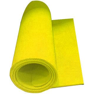 EVA Yoga Mats 24x72inch 6mm thickness Yellow