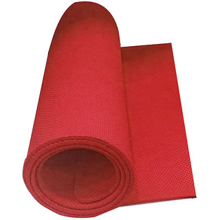 EVA Yoga Mats 24x72inch 10mm thickness Red