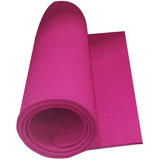 EVA Yoga Mats 24x72inch 10mm thickness Pink