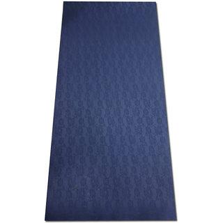 TPE Yoga Mats 24x72inch 6mm thickness Dark Blue