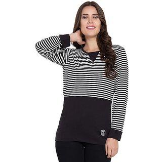 STITCH VASTRA Women's T-Shirt SBOF-5259-BlackW