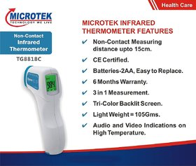 Microtek Infrared Thermometer (Model No. TG8818C)