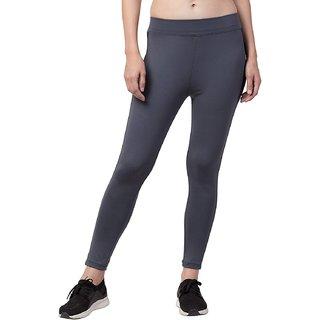 STITCH VASTRA Grey Color Slim Fit Gym and Yoga Pant Type Women's Jegging SBOF-5281-Grey
