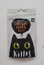 Kittos Chicken Jerky Strips (Pack of 4)
