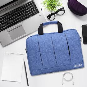 SHIBUILaptop Shoulder Bag,Sleeve Case for Work/Travel,Fits 15-15.6 Inches Laptop/Notebook/MacBook/Ultrabook Computer.