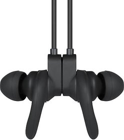 Zoook Upbeat Sports Wireless Bluetooth Headphones with Built-in Mic  Bluetooth 5.0 (Black)
