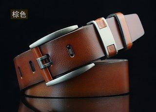 Onnix Men  Women Casual, Party, Evening Brown Artificial Leather Belt