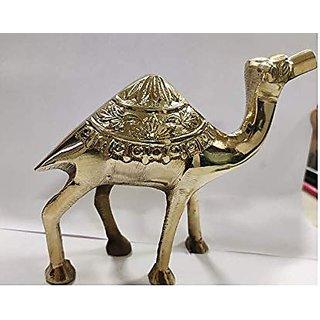 Shubh Sanket Vastu Brass Camel 6 inches