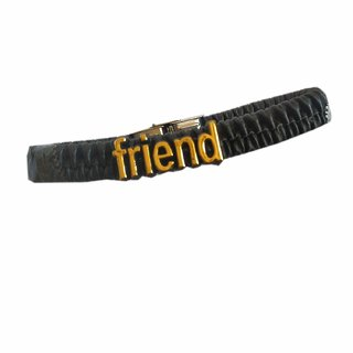 Friendship Bracelets  with Lock Wrist Band and Metal Bracelet for Boys and Girls