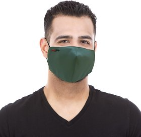 Healthgenie Reusable Face Mask FM 101 Pack of 3 For Men Assorted Colour