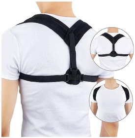 HT Clavicle Brace with Velcro is a smart and a comfortable brace designed to immobilize, compress  stabilize fractures.