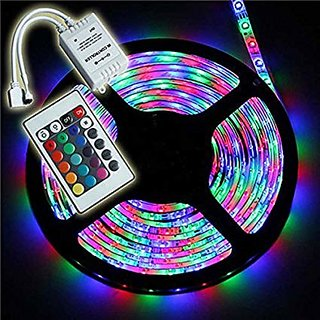 Remote Control RGB LED Strip 5M Water Proof Individual Addressable Strip Light For Diwali
