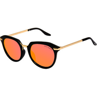 David Blake Oversized Gradient Polarized UV Protected Women Sunglass