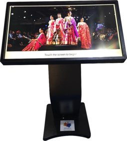 VirtuBox Extensa Interactive Touch Screen Kiosk