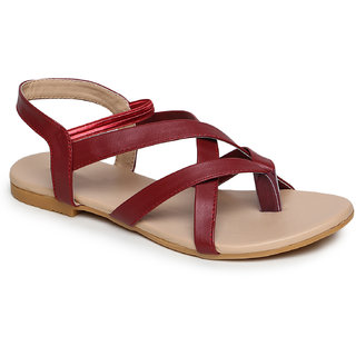Banjoy Ladies Flat Sandals