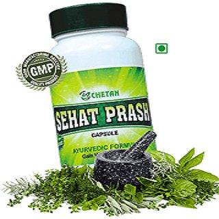 Chetan Herbals Sehat Prash Weight Gainer (60 Capsules)