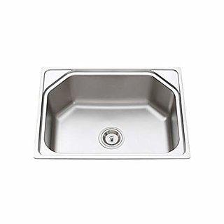 Kitchen Sink Fully Matte Finish (24x18x10) Inch Stainless Steel Zesta Sink