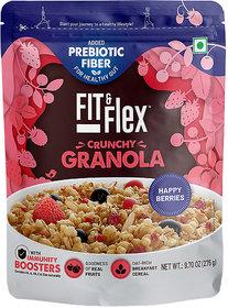 Fit and Flex Granola Happy Berries 275g