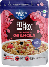 Fit and Flex Granola Happy Berries 450g