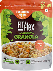 Fit and Flex Granola Mango Coconut 275g