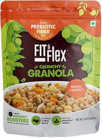 Fit and Flex Granola Mango Coconut 450g