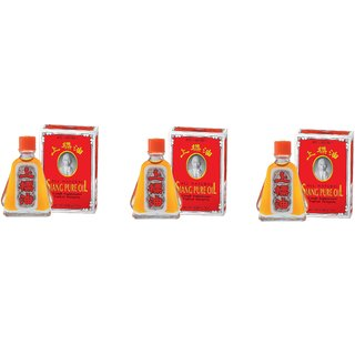 Siang Pure Oil Formula 1 7cc (7ml) - Pack Of 3
