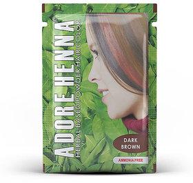 Adore Henna Dark Brown Hair Color 25g (20packs)