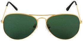 Adam Jones Green Aviator Sunglasses