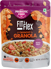 Fit and Flex Granola Mixed Fruit 275g