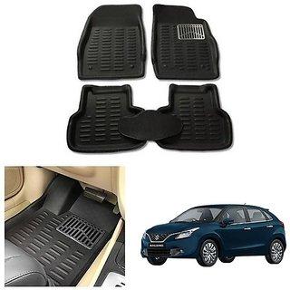 After cars Car Carpet Black Car Floor/Foot Mats for Maruti Suzuki Baleno