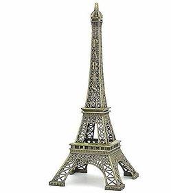 GA Eiffel Tower Statue for Gift, Home Decor Showpiece, Office Decor, Desk Decor, Car Decor 11 inch