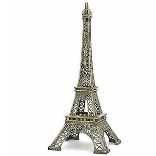 GA Eiffel Tower Statue for Gift, Home Decor Showpiece, Office Decor, Desk Decor, Car Decor 6.5 inch