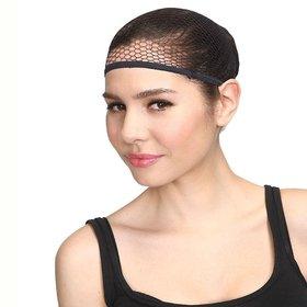 Ritzkart 1 Get 1 Fishnet Stretchable Elastic Hair Snood Cap Hair Wig Net Ship