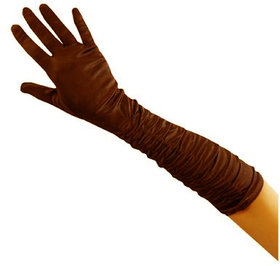 Aadikart  Bike Riding Protective Cotton Gloves Brown Full for Men and Women Pack of 1