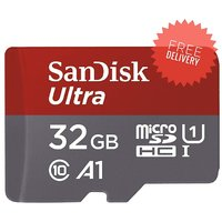 SanDisk Ultra 32  GB Micro SDHC Class 10 98 MB/s Memory