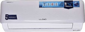 Lloyd 1 Ton 3 Star Split AC   White  LS12B32WACR, Copper Condenser