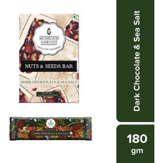 Nuts  Seeds Bars - Dark Chocolate  Sea Salt (Pack of 6)
