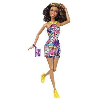 Mattel W3899 Barbie Fashionistas - Nikki Doll