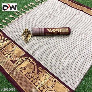 Pragati Lifestyle Present Beautiful Jeaqurd Designer Silk Collection