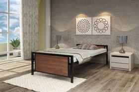 Homdec Taurus Foldable Metal Single Bed