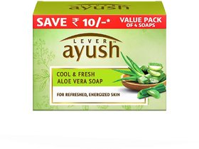 Ayush-Cool & Fresh Aloe Vera Body Soap-100 Gm