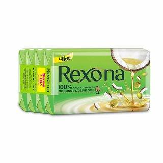 Rexona-Coconut & Olive Oil Soap-100 Gm*4