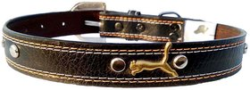 Forever99 Pet Shop Leather Dog Collar Neck Belt for Extra Large Dogs (Tan)