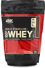 Optimum Nutrition Gold Standard 100 Whey, Double Rich Chocolate, 454 G