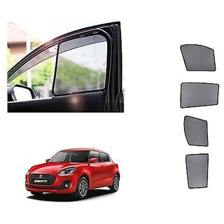 After Cars ms Swift 2019 New Car Half Sun Shade black curtain With Free Gift Car Bluetooth