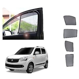 After Cars ms Wagon R 2012 Car Half Sun Shade black curtain With Free Gift Car Bluetooth