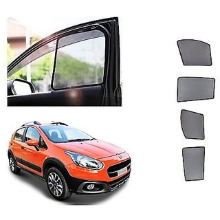 After Cars fiat avventura Car Half Sun Shade black curtain With Free Gift Car Bluetooth