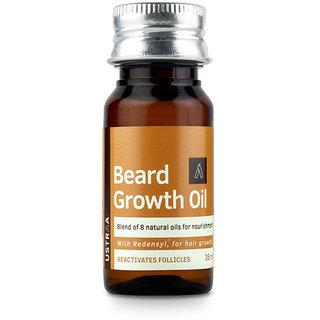 Ustraa Beard Growth Oil for Men - 35ml